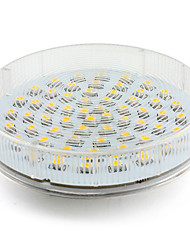 4W GX53 LED Spotlight 60 SMD 3528 300-350lm Warm White 2800K AC 220-240V 1pc