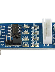 cheap -ULN2003 5-Line 4-Phase Stepper Motor Driver Module - Blue