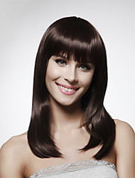 cheap -Capless 100% Human Hair Shoulder-length  Bob Style Hair Wig 5 Colors To Choose