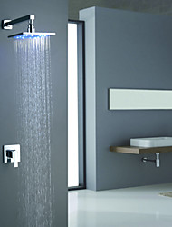 Contemporary  with  Chrome Single Handle Two Holes  ,  Feature  for Wall Mount LED
