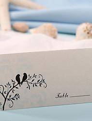 Недорогие -карты места и держатели карты места - милые птицы (набор из 12) свадебный прием