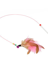 Cat Cat Toy Pet Toys Teaser Feather Toy Stick Plastic For Pets