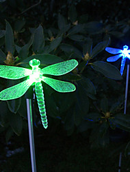 cheap -1pc Garden Lights Lawn Lights LED Beads High Power LED Easy Install Decorative Multi Color