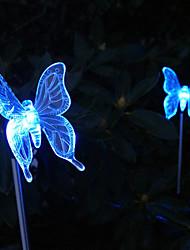 Недорогие -Солнечная Изменение цвета Butterfly Style Garden Доля свет