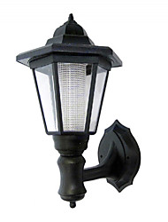 cheap -White Solar Powered Wall Mounted Light   High Quality Outdoor Lighting