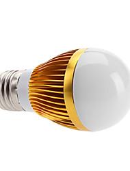 baratos -3000lm E26 / E27 Lâmpada Redonda LED 3 Contas LED LED de Alta Potência Branco Quente 100-240V