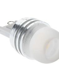 cheap -2W G9 LED Spotlight 1 High Power LED 160-210lm Warm White Cold White 3000K DC 12V