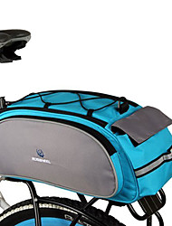 Roswheel Rear Pannier Bike Bag Trunk Bag Polyester Bike Luggage Carrier Bag