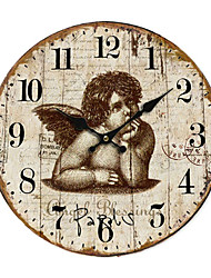 baratos -País Anjo Relógio de parede