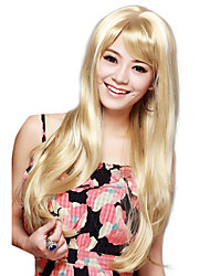 Capless Long Straight Blonde High Quality Synthetic Hair Wig