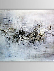 cheap -Hand-Painted Abstract Horizontal One Panel Canvas Oil Painting For Home Decoration