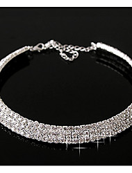 cheap -Casual Birthstones Layered Necklace Diamond Alloy Layered Necklace ,