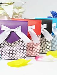 baratos -Pirâmide Papel de Cartão Suportes para Lembrancinhas Com Tiras Laço Bolsas de Ofertas