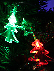 7M 30-LED Christmas-Tree-Shaped Colorful Light LED Strip Fairy Lamp for Festival Decoration (220V)