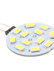 G4 Luci LED Bi-pin 12 SMD 5630 170 lm Bianco K DC 12 V