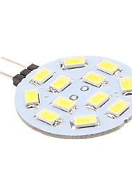 cheap -G4 LED Bi-pin Lights 12 leds SMD 5630 170lm Natural White DC 12