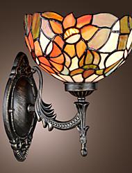 Недорогие -Бра в стиле Тиффани в виде цветка с 1 плафоном