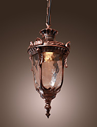 cheap -Country Lantern Pendant Light For Living Room Bedroom Entry Hallway Bulb Not Included
