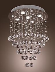 preiswerte -GREENBELT - Lüster aus Kristall mit 5 Glühbirnen