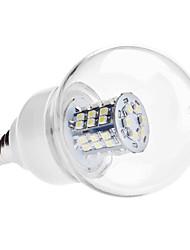 economico -e14 led lampadine globali g60 48 smd 3528 250lm bianco caldo bianco freddo 6000k ac 220-240 ac 110-130v