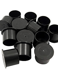 cheap -1000Pcs Cylindrical Black Small Tattoo Ink Cup