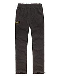cheap -Men's Hiking Pants Outdoor Thermal / Warm, Wearable, Breathable Spring / Fall / Winter Fleece, Softshell Pants / Trousers Camping /