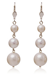 cheap -Women's Pearl - Round Alloy For