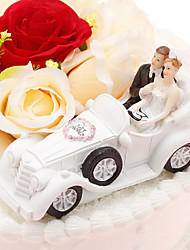 cheap -Cake Topper Vehicle Classic Couple Resin Wedding Anniversary with PVC Bag