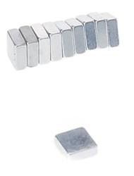 preiswerte -Magnetspielsachen Bausteine Super Strong Seltenerd-Magneten 10 Stücke 5*5*2mm Spielzeuge Magnet Quadratisch Geschenk