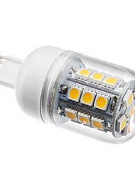 G9 LED Corn Lights T 27 SMD 5050 300lm Warm White 2800K AC 220-240V