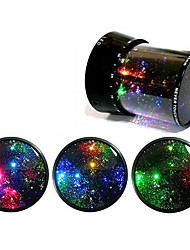 Starry Sky Revolving LED Lamp/Music Box(Ramdon Color)
