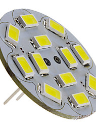3w g4 led spotlight 12 smd 5730 250lm blanco natural 6000k dc 12v