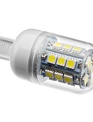 cheap -210lm G9 LED Corn Lights T 27 LED Beads SMD 5050 Natural White 200-240V 220-240V