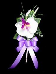 preiswerte -Hochzeitsblumen Knopflochblumen Hochzeit / Party / Abend Satin / Baumwolle 15 cm ca.