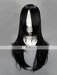 cheap -Cosplay Wigs Naruto Neji Hyuga Anime Cosplay Wigs 65 CM Heat Resistant Fiber Men's