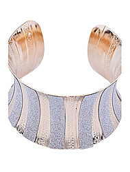 Недорогие -Европейский стиль моды блестящий порошок дугообразные Браслет-манжета ювелирные изделия