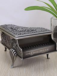 Недорогие -Персонализированные Урожай фортепиано Дизайн Tutania шкатулке