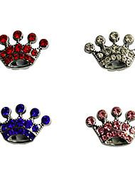 Cachorro Marcadores Artigos DIY Strass Tiaras e Coroas Branco Rosa claro
