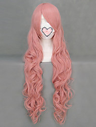 cheap -Cosplay Wigs Vocaloid Megurine Luka Pink Long Anime/ Video Games Cosplay Wigs 90 CM Heat Resistant Fiber Female
