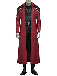 Inspired by Final Fantasy Genesis Rhapsodos Video Game Cosplay Costumes Cosplay Suits Patchwork Black / Red Long SleeveCloak / Shirt /
