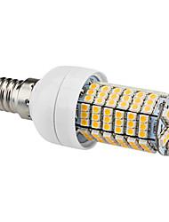 e14 led corn lys t 144 smd 3528 450lm varm hvid 3000k ac 220-240v