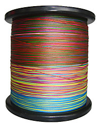 cheap -2000M / 2200 Yards PE Braided Line / Dyneema / Superline Fishing LineGreen / Orange / Yellow / Purple / Fuchsia / Red / Blue / Assorted