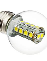 billige -6000lm E26 / E27 LED-globepærer G45 18 LED Perler SMD 5050 Naturlig hvid 220-240V