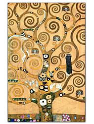 abordables -Impresiones de Arte Impresiones en Lienzo Estirado Impresión de lienzo Famoso Vertical Estampado Decoración de pared For Decoración