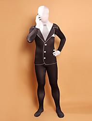 povoljno -Zentai odijela Ninja Zentai odijela Cosplay Nošnje Jednobojni Hula-hopke / Onesie Zentai odijela Lycra Muškarci Žene Halloween