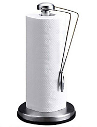 Kitchen Stainless Steel Paper Towel Holder Cleaning Paper Stand