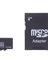 32GB Class 6 MicroSDHC TF Memory Card and SDHC Adapter
