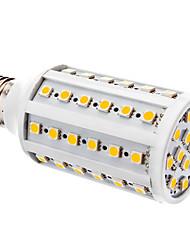 preiswerte -E26/E27 LED Mais-Birnen T 60 Leds SMD 5050 Warmes Weiß Weiß 800lm 6000K DC 12V