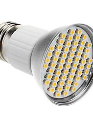 Недорогие -1шт 3 W 240 lm E26 / E27 Точечное LED освещение 60 Светодиодные бусины SMD 3528 Тёплый белый 85-265 V