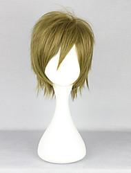 cheap -Cosplay Wigs Free! Makoto Tachibana Anime Cosplay Wigs 35 CM Heat Resistant Fiber Men's